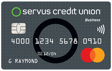 Business rewards mastercard servus credit union mastercard business rewards a business rewards mastercard credit card reheart Gallery