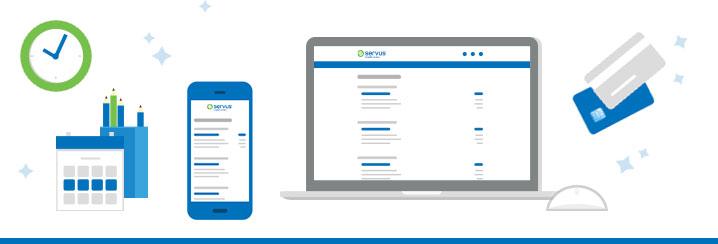 Online banking - Servus Credit Union